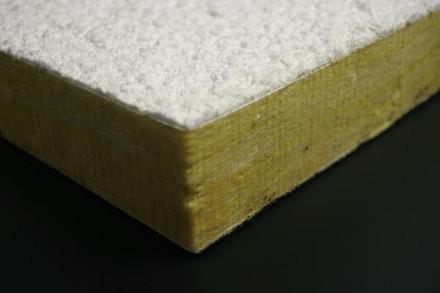 Cottonmix acoustics aislante t rmico y ac stico a base de fibras de celulosa sobre panel de - Fibra de vidrio aislante acustico ...