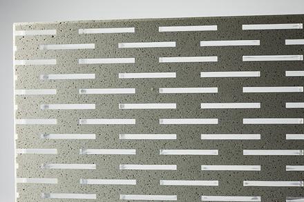 Hormigon traslucido exposed concrete wall and fence for Hormigon traslucido